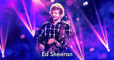 Ed Sheeran Announces Massive North American Tour